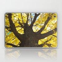 yellow fall  Laptop & iPad Skin