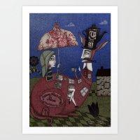 Tea For Two (1) Art Print