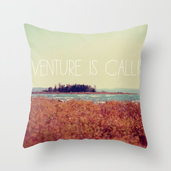 Adventure is Calling #2 Throw Pillow