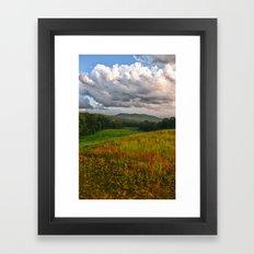Catcher in the Rye View Framed Art Print