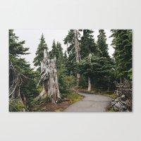 Mile High Hiking Canvas Print