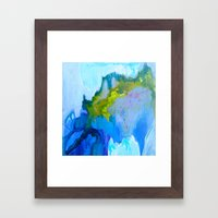 Flickering Cup - Light in the Caves Framed Art Print