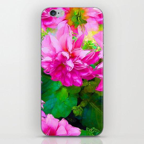 Hot Dahlia's iPhone & iPod Skin