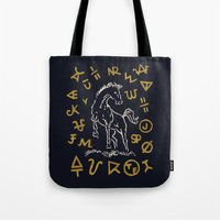Crypto Horse Tote Bag