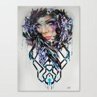 Salvage Beauty Canvas Print
