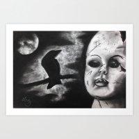 Always A Dark Side Art Print
