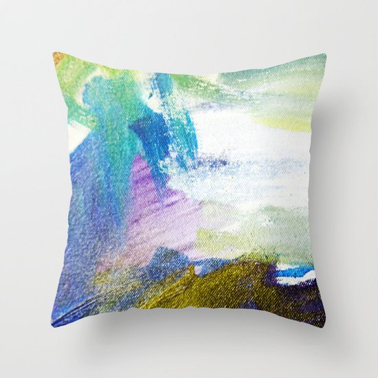 Thin Air Throw Pillow