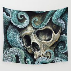 Please my love, don't die so far from the sea... Wall Tapestry