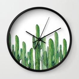 Wall Clock - cactus basic - franciscomffonseca