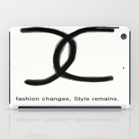 Fashion And Style iPad Case