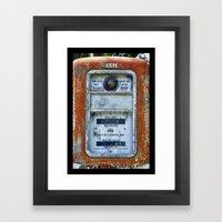 Not A Computing Pump Framed Art Print