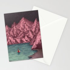 Swimming in your mind Stationery Cards