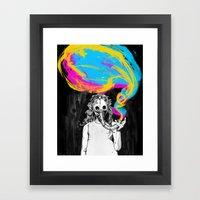 DeathBreath Framed Art Print