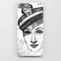 iPhone & iPod Case featuring Marlene Dietrich by Paul Nelson-Esch /Expeditionary Club