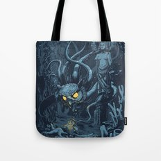 Defender of the Deep  Tote Bag
