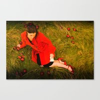 Lizzie Nunnery And The A… Canvas Print