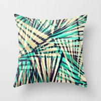 Tiger Stripes Throw Pillow
