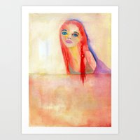 The Sound Of My Feet Mov… Art Print