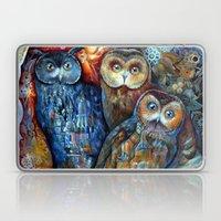 Town Owls Laptop & iPad Skin