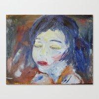 Canvas Print featuring 'Figure 5'  by Tara Bateman