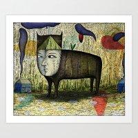 The Phantom Beast Of Sum… Art Print