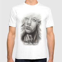 Find The Light     By Da… Mens Fitted Tee White SMALL