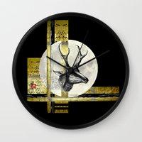 Golden. A. Wall Clock