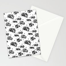PG Cussin' Pattern Stationery Cards