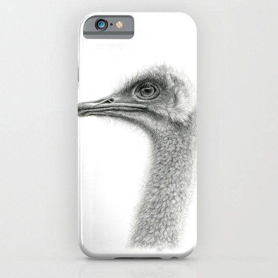Cute Ostrich Profile SK054 iPhone & iPod Case