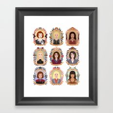 SFC Collection Framed Art Print