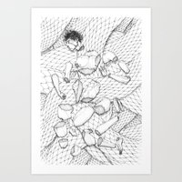 23 Pieces Art Print