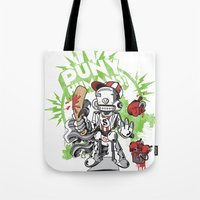 Lil' Sluggerbot! Tote Bag