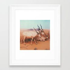 Museum Wildlife II Framed Art Print