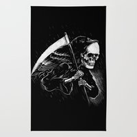 DEATH WILL HAVE HIS DAY Rug