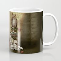 The Bibliophile - (the lover of books) Mug