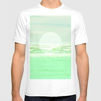 OcEAN Mens Fitted Tee White SMALL