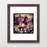 Ultimate Bereavement Party Framed Art Print