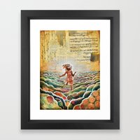Heavenly Places Framed Art Print