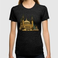 Opulence Womens Fitted Tee Tri-Black SMALL