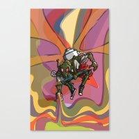 Brushmask Canvas Print