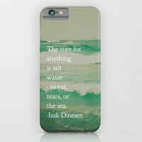 iPhone & iPod Case featuring Salt Water Cure by Olivia Joy StClaire