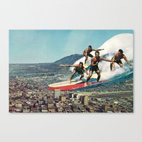 Of Course Canvas Print
