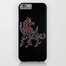 Okami Amaterasu - Cherry Blossom Form [BLACK] iPhone 6s Slim Case