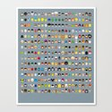 Famous Capsules - The Big One Canvas Print