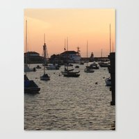 Nantucket At Sunset Canvas Print