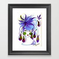 Cocotte Nepenthes Framed Art Print