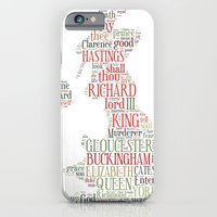 iPhone & iPod Case featuring Shakespeare's Richard III  by MollyW