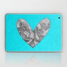 Patterned Heart Laptop & iPad Skin