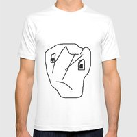 INDIFFERENT Mens Fitted Tee White SMALL