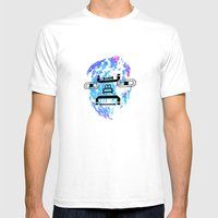 Letterman Mens Fitted Tee White SMALL